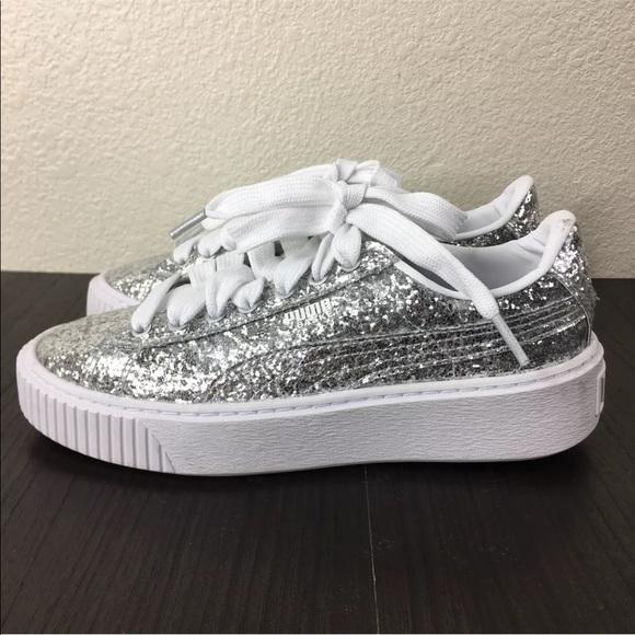 basket puma glitter